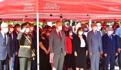 Gaziantep'te 30 Ağustos Zafer Bayramı töreni