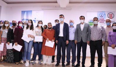 Girişimci 75 kadına sertifikaları törenle verildi