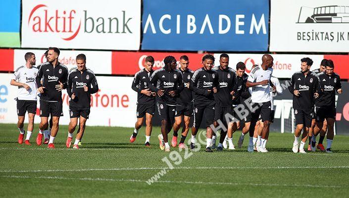 Beşiktaş Borussia Dortmund maçına hazır