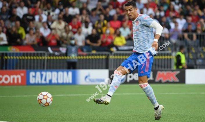 Cristiano Ronaldodan 103 dakikada 3 gol