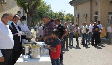 Gaziantep Ticaret Borsası'ndan aşure ikramı