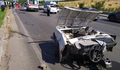 Gaziantep'te feci kaza! 2 kişi hayatını kaybetti, 2 yaralı