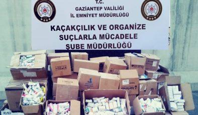 Gaziantep'te kaçak ilaç operasyonu!