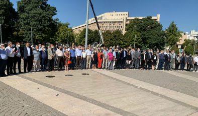 Gaziantep'de CHP'nin 98'inci kuruluş yıl dönümü kutlandı