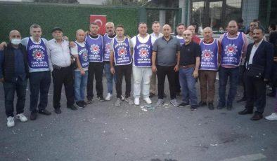MDD Hareketinden direnişteki Salcomp  işçilerine ziyaret
