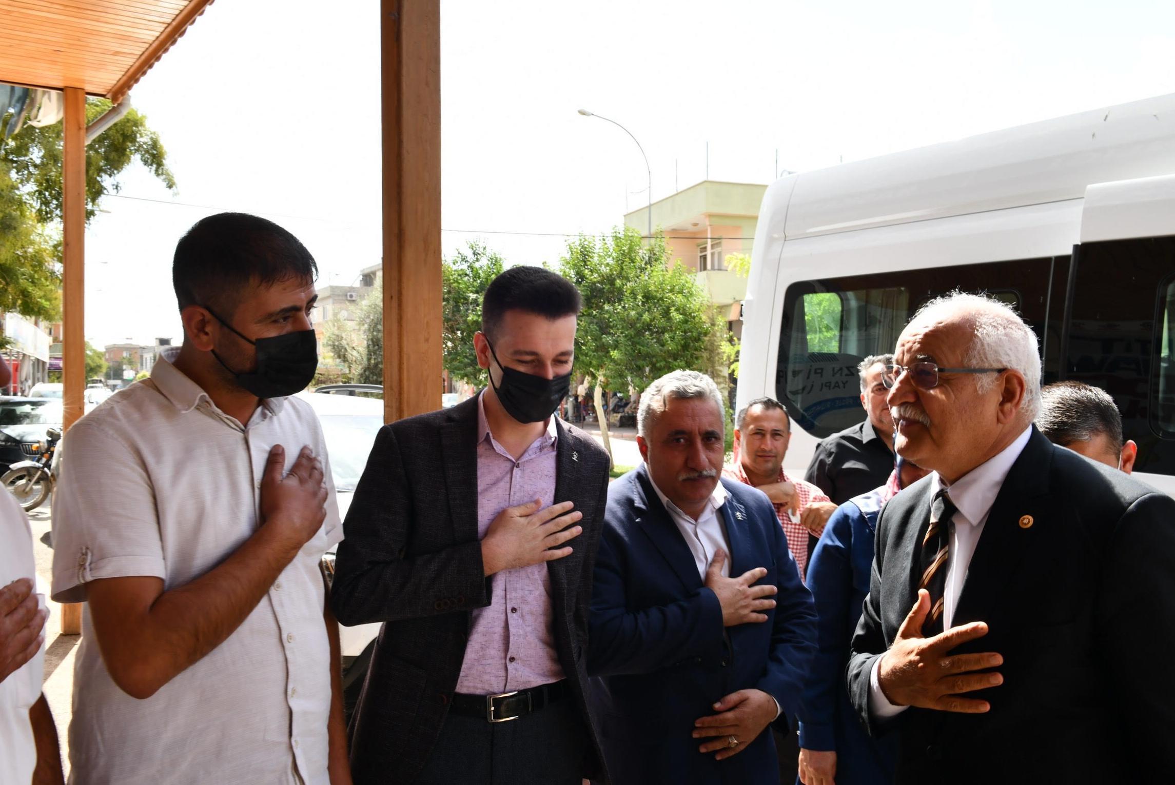 Mehmet Erdoğan'dan Oğuzeli'ne ziyaret