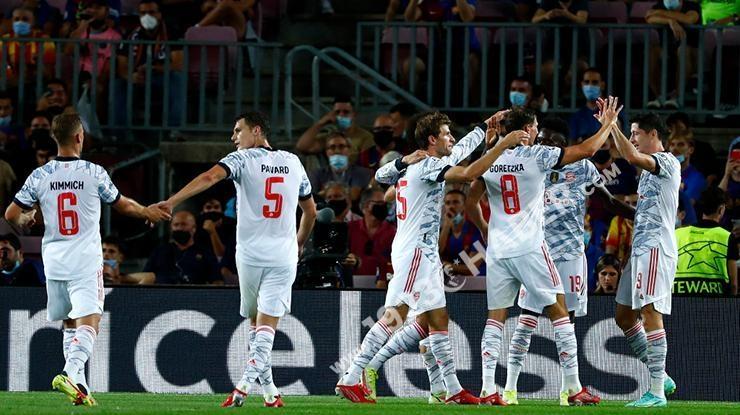 ÖZET Barcelona-Bayern Münih maç sonucu: 0-3