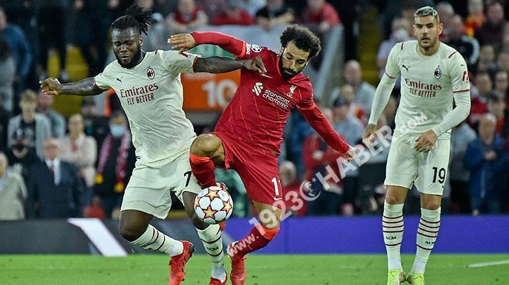 Şampiyonlar Ligi   Liverpool-Milan maç sonucu: 3-2