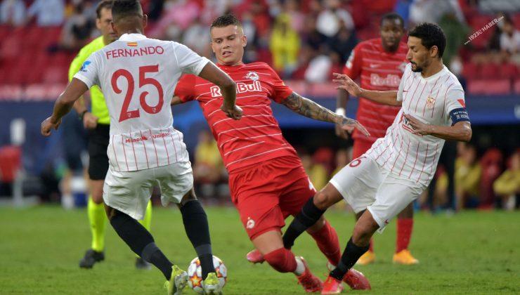Şampiyonlar Ligi | Sevilla-Salzburg maç sonucu: 1-1