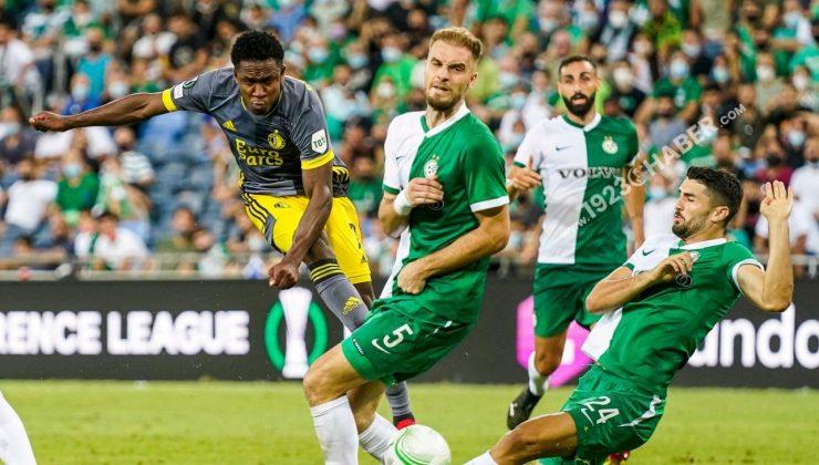 UEFA Konferans Liginde 2021-2022 sezonu iki maçla başladı