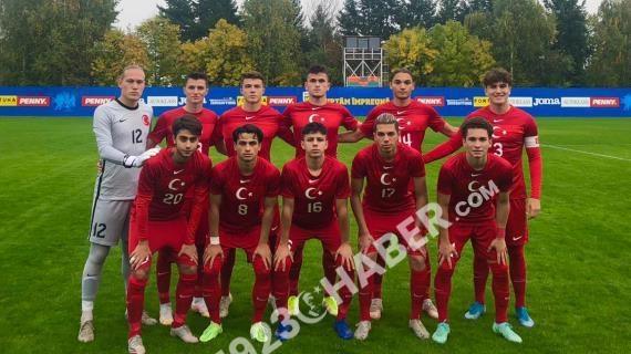 18 Yaş Altı Milli Futbol Takımı, Romanya'ya 1-0 yenildi