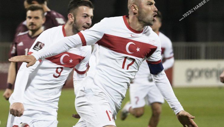 A milli futbol Takımımız 1924ten bu yana Letonyayı ilk defa…