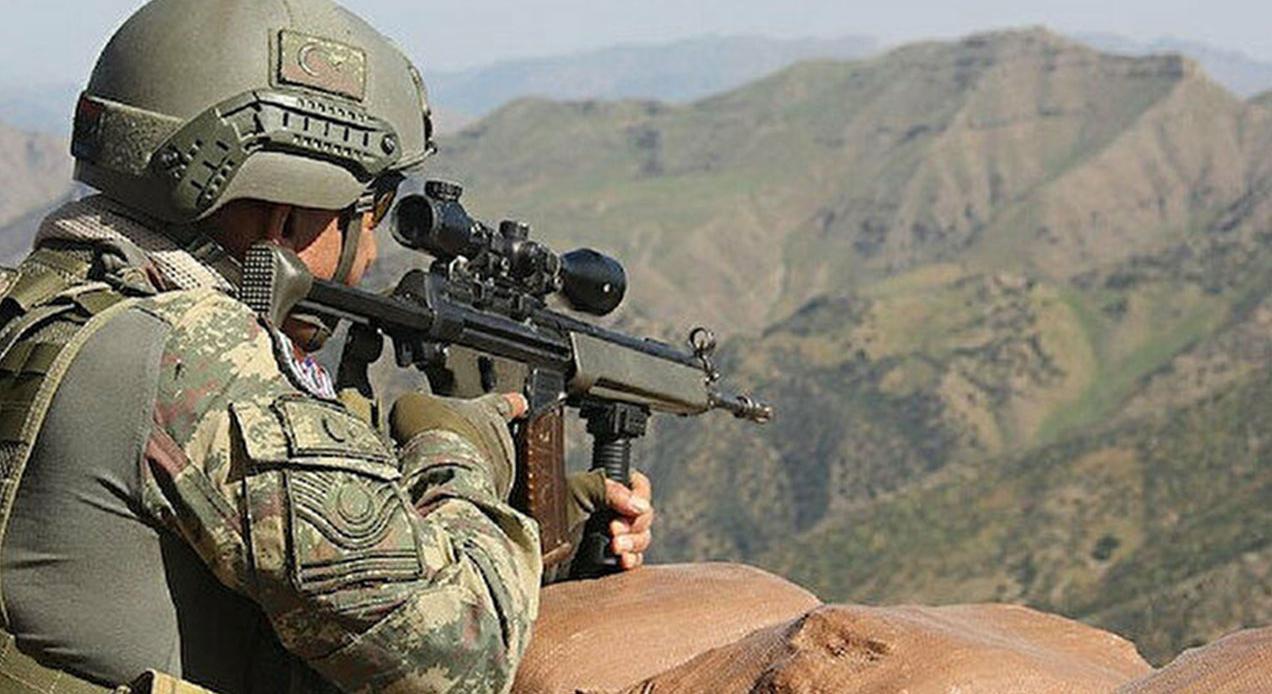 Barış Pınarı bölgesinde 5 terörist etkisiz hale getirildi…