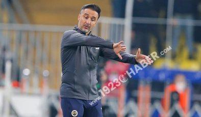 Fenerbahçede Vitor Pereira kendini aştı