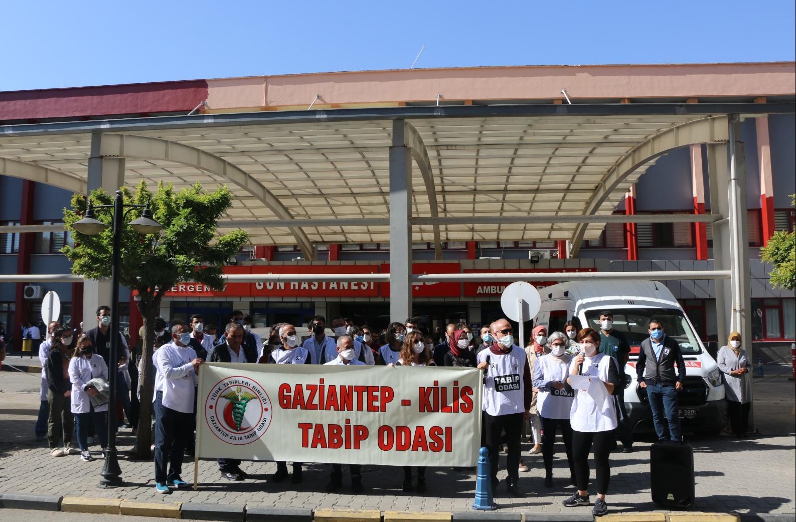 Gaziantep Tabip Odası: Uykusuz hekim, tükenmiş hekim sağlığa zararlıdır!