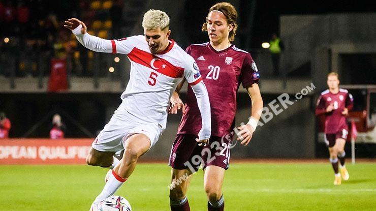 (ÖZET) Letonya-Türkiye maç sonucu: 1-2