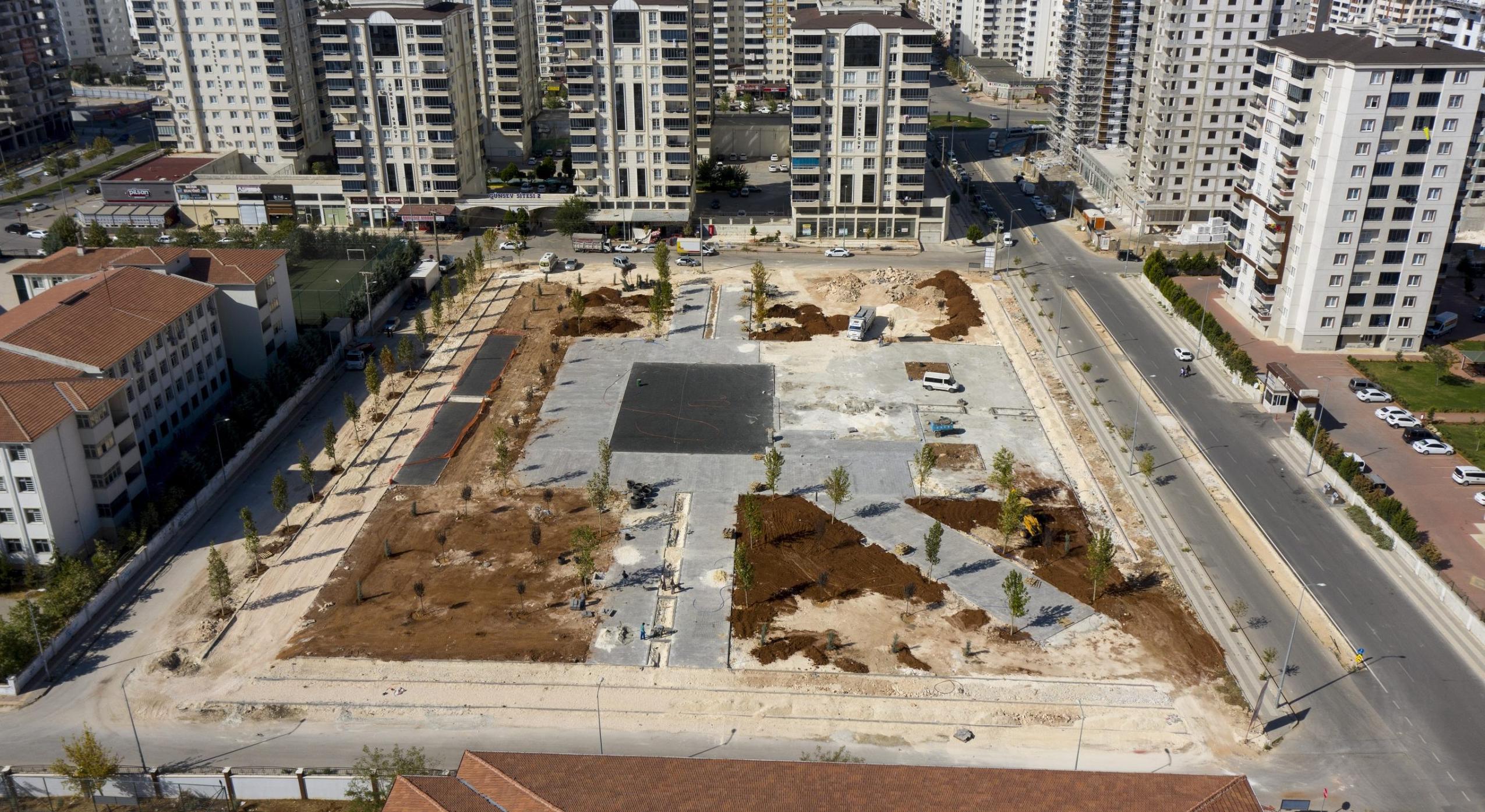 Şahinbey'den Akkent'e yeni park…